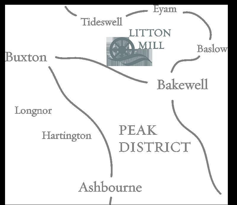 Litton Mill Apartment Map